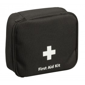 BS Motorist Small First Aid Kit (Black Pouch), BS 8599-2