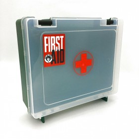 First Aid Empty Clear Box No. 020
