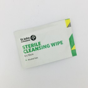 Sterile Cleansing Wipe