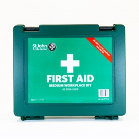 Standard Medium Workplace First Aid Kit, BS 8599-1:2019
