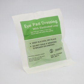 Sterile Eye Pad with Loop