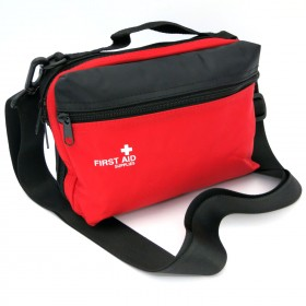 First Aid Pouch Red Medium